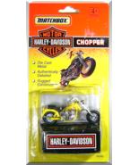 Matchbox - Harley-Davidson Chopper: Series #76246 (1994) *Yellow Edition* - $4.00