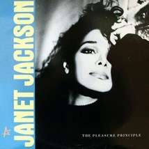 JANET JACKSON - THE PLEASURE PRINCIPLE U.S. 12 INCH SINGLE RECORD 1986 4... - $8.95