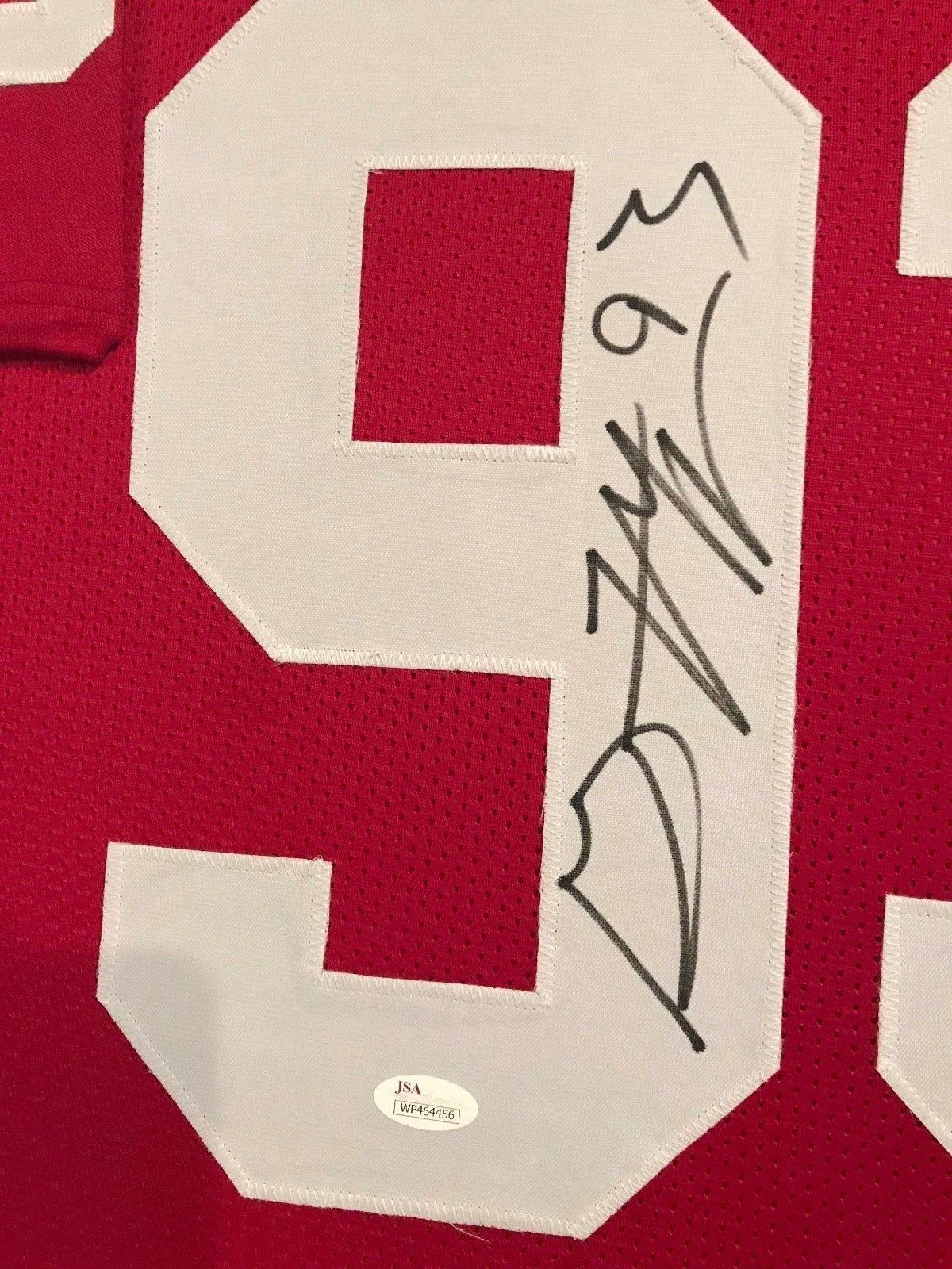 Gerald McCoy Autographed Custom Framed Oklahoma Sooners Jersey JSA Witnessed COA