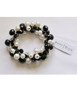 White House Black Market Stretch Bracelet Lightweight Acrylic Beads $34 ... - $10.88