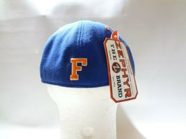 New University Of Florida UF Zephyr Fitted Cap Hat 7 1/2 Z brand College  image 5