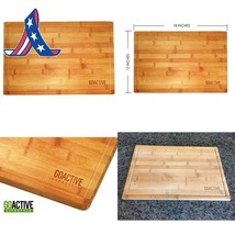 Go Active Lifestyle Bamboo Cutting Board With Drip Groove, 18 X 12-Inch - $22.81