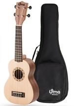 Uma Ukulele Carving Series UK-SUN Soprano With Gig Bag - $59.39