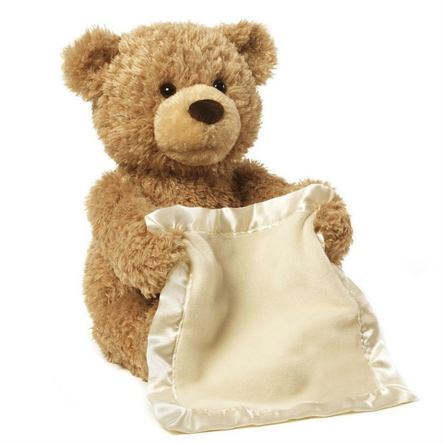 Peek a boo teddy bear plush toy3
