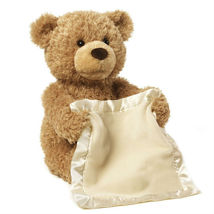 Peek a boo teddy bear plush toy3 thumb200