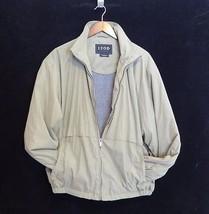 Large Izod Outerwear Jacket Olive Green - $19.76