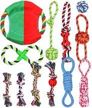 12 Pack Puppy Chew Dog Rope Toy Assortment for Small Medium Breed Pet To... - £20.86 GBP