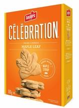 6 Boxes Leclerc Celebration Maple Leaf Creme Cookies 350g Each - Canada - FRESH - $44.33