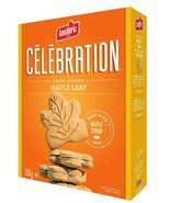 6 Boxes Leclerc Celebration Maple Leaf Creme Cookies 350g Each - Canada ... - $44.33