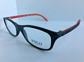 New Polo Ralph Lauren PH 2521 0455 Black Red Men's Eyeglasses Frame   - $99.99