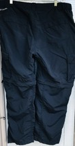 Columbia Omni Shade Sun Protect Convertible Cargo Pants Men W40 x L30 Na... - $18.31