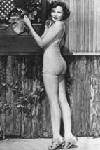 Gene Tierney vintage 4x6 inch real photo #453394 - $4.75
