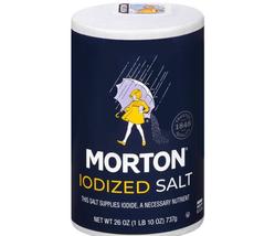 Morton Salt, Iodized, 26 Ounce 1 LBS - $16.82+