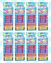 8 PEZ Assorted Candy 8pk Refill Strawberry, Grape, Orange & Lemon 2.32 OZ - $26.72