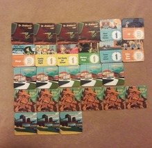 Disney Kim Possible Board Game Replacement Pieces Parts 26 Mission Tiles - $7.69