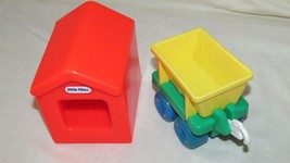 Little Tikes interstate expressway road roadway red house piece train car - $11.87