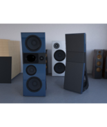 DK25q HiFi hi-end speaker Open Baffle Speaker 1.4 Horn 15 inch bass alum... - $9,999.99