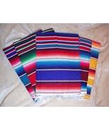Roger Enterprises Large Authentic Mexican Serape Saltillo Blankets 7'/5' - $22.88
