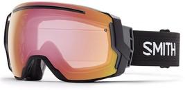 SMITH SAMPLE MEN'S ASIAN FIT I/O 7 SKI SNOWBOARD GOGGLE BLACK/ PHOTO RED... - $219.99
