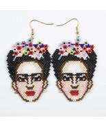 Go2boho 2019 New Frida Earrings MIYUKI Mexico Frida Earrings Jewelry Han... - $24.92