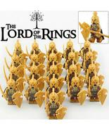 21pcs/set Noldor Elf Warrior Elves Army The Hobbit Lord of the Rings Min... - $29.50