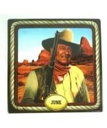John Wayne Bradford Exchange Perpetual Calendar Ceramic U Pick Month Rep... - $27.97