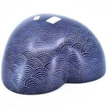 Vaneal Group Hand Carved Kisii Soapstone Purple Heart Decorative Bowl Kenya image 4