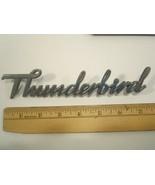 Original Vintage METAL Car Emblem Ford THUNDERBIRD [Y64D1] - £21.39 GBP
