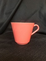 Vintage Plastic Rose Pink Arvin Mug Cup Picnic Perfect or Vintage Camper... - $4.99