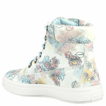 "Women's Timberland LONDYN 6"" SNEAKER BOOTS, FLORAL Sued TB0A1X46 T67 Multi Sizes image 5"