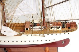 USCG Eagle Hand Built Wooden Tall Ship Model US... - $648.67