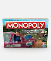 Monopoly Jeff Foxworthy Edition Board Game Redneck Property Trading 2020... - $25.69