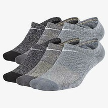 Nike Youth Performance Cushion No-Show Socks M 5Y-7Y SX7165-922 - $24.99