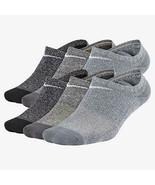 Nike Youth Performance Cushion No-Show Socks M 5Y-7Y SX7165-922 - $24.99