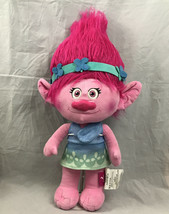 "Dreamworks Trolls Large 24"" Adorable Stuffed Animal Plush Poppy Pink Troll Doll - $21.46"