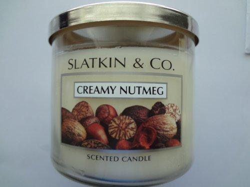 Bath & Body Works CREAMY NUTMEG Scented Candle 14.5 oz/ 411 g