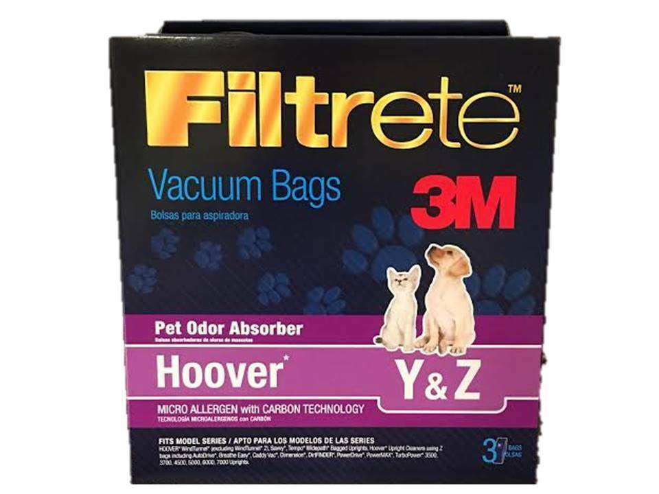 Primary image for HOOVER WINDTUNNEL TYPE Y VACUUM BAGS  BUY 2 PACKAGES GET 1 PACKAGE FREE