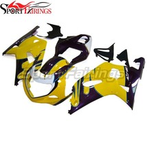 Yellow Purple White Fairings for 2000 2001 2002 2003 Suzuki GSXR600 K1 G... - $645.88