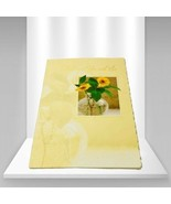 """Tender Thoughts Greetings Vintage """"Thinking of You and Love"""" Greetings Card - $6.30"""