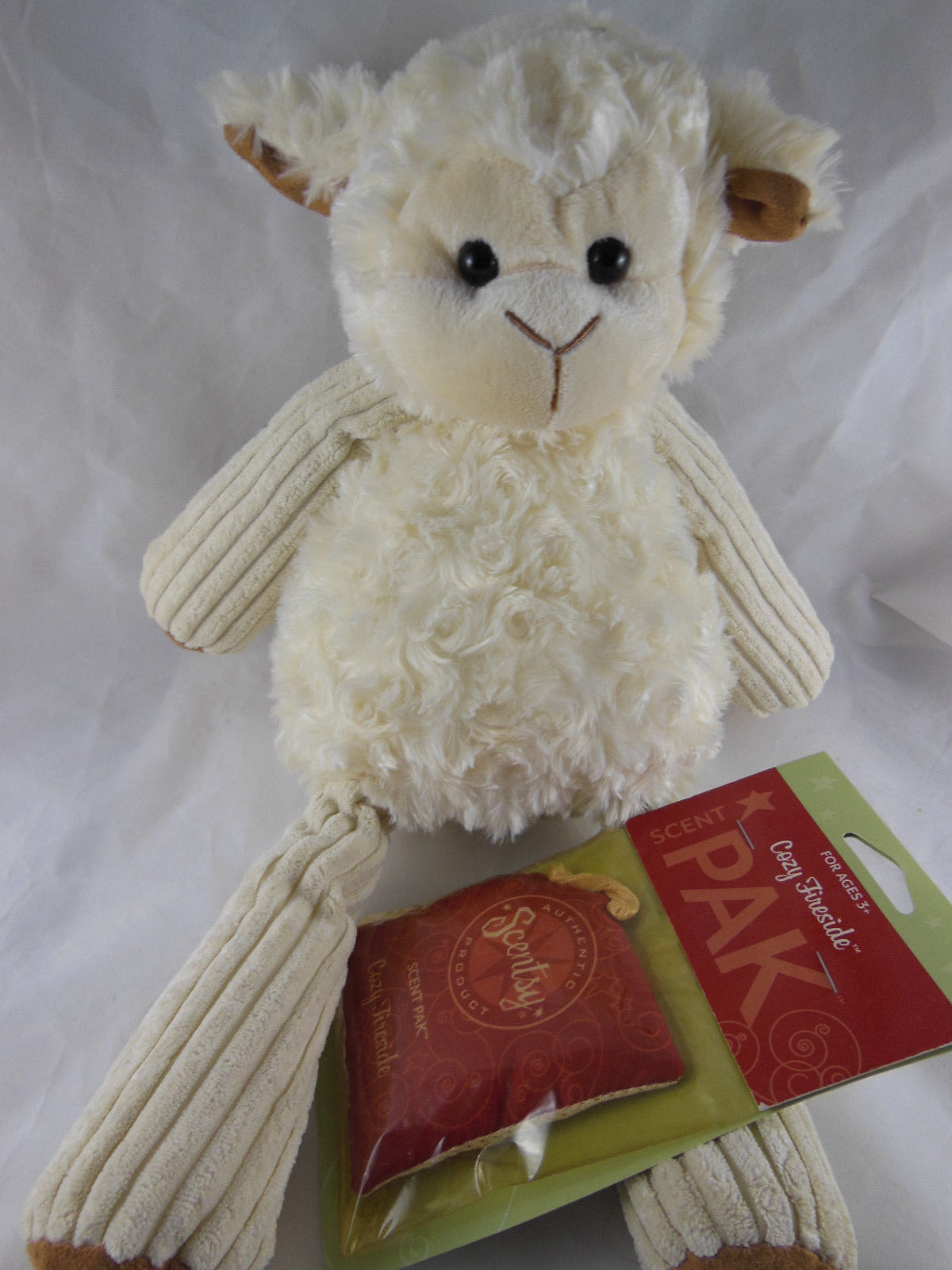 Scentsy Buddy Lenny The Lamb With Scent Pak