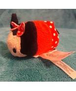 "DISNEY STORE Authentic MINNIE MOUSE Mini TSUM TSUM Plush Stuffed Toy 3.5"" - $5.89"