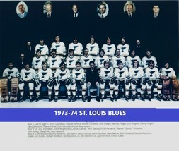 1973-74 ST. LOUIS BLUES TEAM 8X10 PHOTO HOCKEY PICTURE NHL - £2.89 GBP