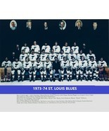 1973-74 ST. LOUIS BLUES TEAM 8X10 PHOTO HOCKEY PICTURE NHL - £2.80 GBP
