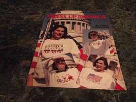 Dress Up American in Waste Canvas by Polly Carbonare Leaflet 2084 cross ... - $2.99
