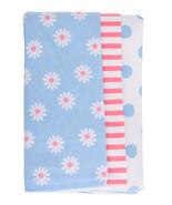 Gerber Newborn Baby Girl Assorted Flannel Burp Cloths, 3-Pack  - $13.95