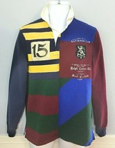 Ralph Lauren Polo Rugby Patchwork Men's Small Custom Slim Fit NWT - $62.36