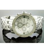 JoJino Men's Diamond Watch 0.25 ct.silver tone - MJ1054 - $178.19