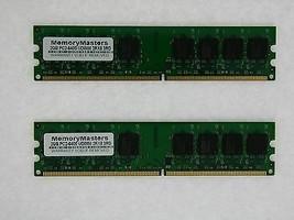 4GB (2X2GB) Memoria 256X64 PC2-6400 800MHZ 1.8V Non ECC DDR2 240 Pin Dimm