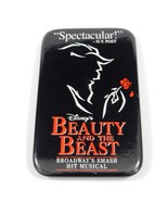 Disney's Beauty and the Beast Broadway Hit Musical Pinback RARE - $7.59