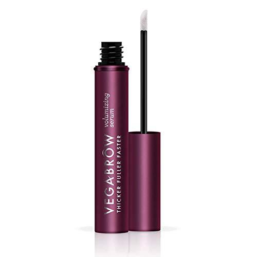 VEGAMOUR vegaBROW Natural Eyebrow Volumizing Serum - Vegan Plant Based Brow Enha